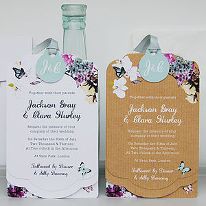 Midsummer Luxe Invitation Set - wedding stationery