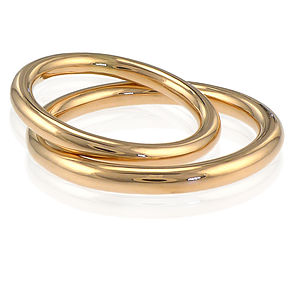 His And Hers Halo Wedding Rings In 18ct Gold - women's jewellery
