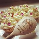 Personalised Wooden Cupcake Spoon
