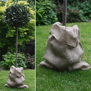 Hessian Sack - outdoor decorations