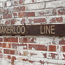 'Bakerloo Line' Hook Board