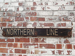 Northern Line Hook Board - home accessories