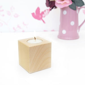 Personalised Tea Light Holder - room decorations
