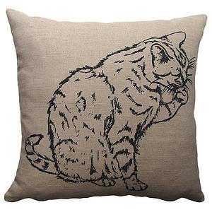 Washing Cat Cushion - patterned cushions