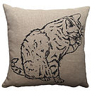 Personalised Pet Cushion Cover