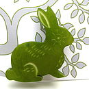 Christmas Hare Brooch