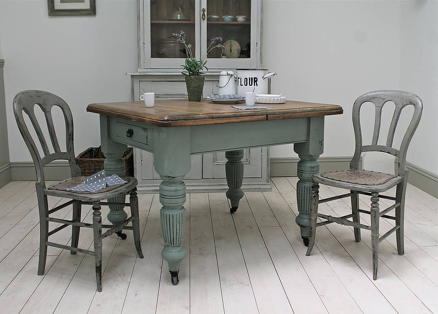 Red Farmhouse Kitchen Table Quicuacom