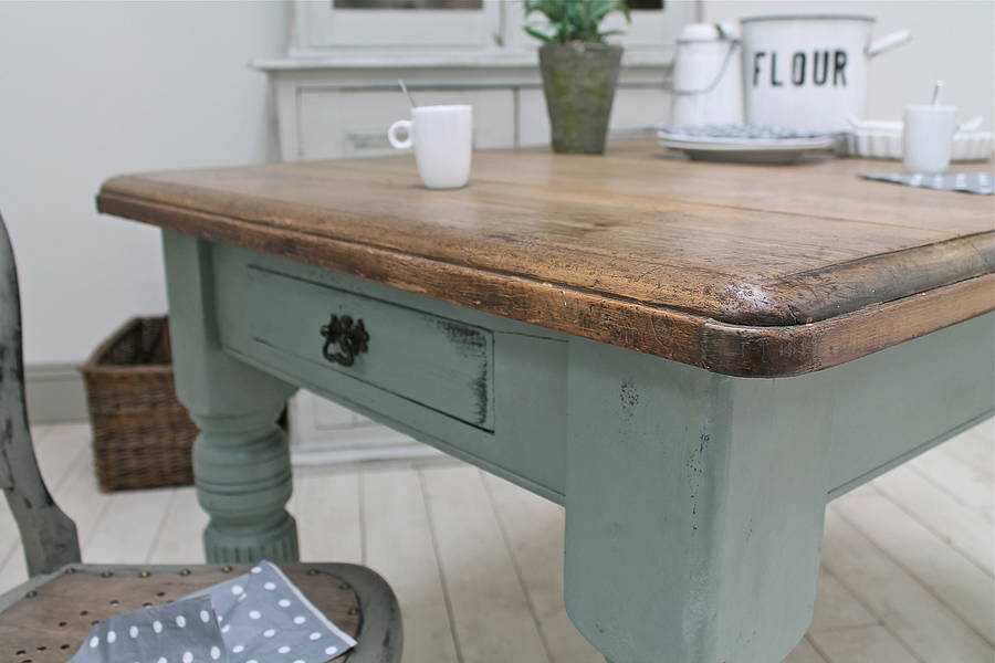 distressed antique farmhouse kitchen table by distressed  : originaldistressed antique farmhouse kitchen table from www.notonthehighstreet.com size 900 x 600 jpeg 45kB