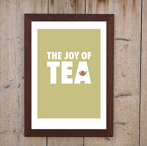 'The Joy Of TEA' Print