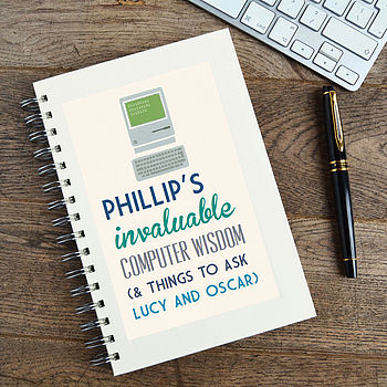 Personalised Communique Computer Notebook