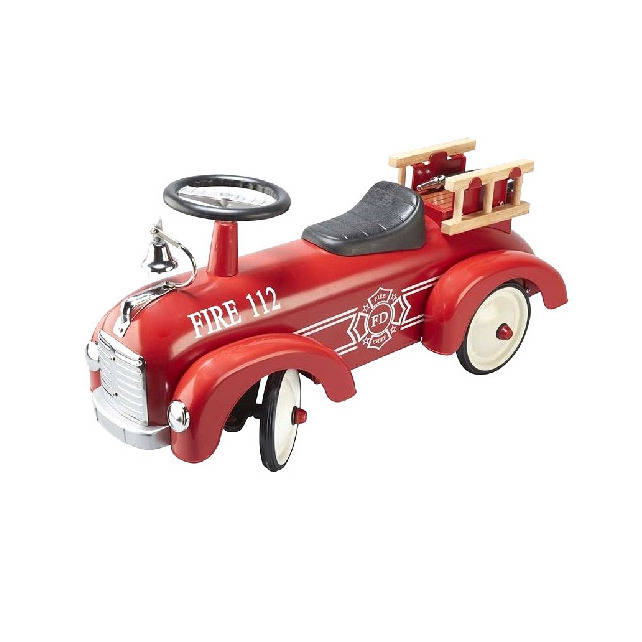 Retro Fire Engine Car
