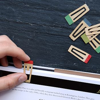Coloured Wooden Book Markers
