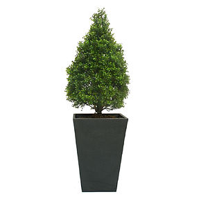 Everlasting Artificial Boxwood Topiary Cone - artificial outdoor plants