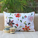 Flower Trail Cushion