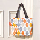 Zipped Tote Bag / Shopping Bag / School Bag