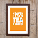 Heaven Is A Cup Of Tea' Print