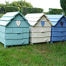 Beach Hut Chicken House
