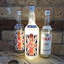 Upcycled Pimm's Bottle Lamp
