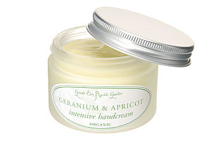 Geranium Or Marjoram Intensive Organic Handcreams