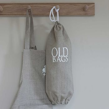 Linen 'Old Bags' Holder