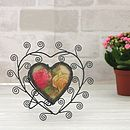 Scroll Heart Frame
