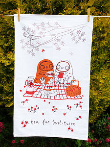 Tea Towels The Tea Owls
