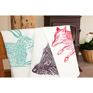 Country Critter Tea Towels - kitchen accessories