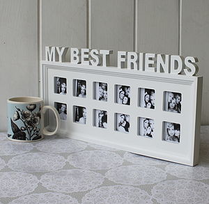 'My Best Friends' Photo Frame - picture frames