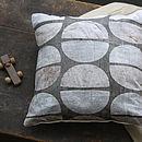 Cream Cemi Cushion
