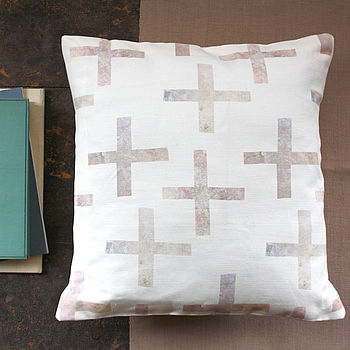 Cross Cushion Cover