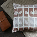Tan Cut Out Cushion