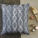 Seeds Cushion Cover Ash