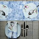 High Tea Printed Cotton Table Runner