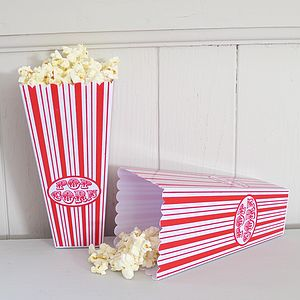 Retro Style Popcorn Holder - children's parties