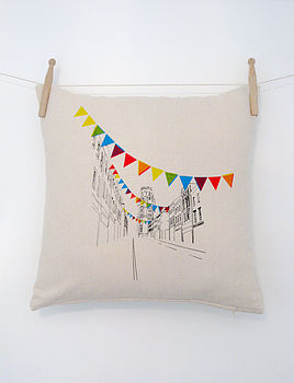 Park Street Cushion whole