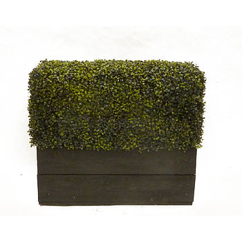 Deluxe Artificial Instant Boxwood Hedge