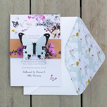 Midsummer Butterfly Invitation Suite