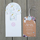 Midsummer Luxe Invitation Suite - Brown Kraft front closed