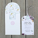 Midsummer Luxe Invitation Suite - White front closed