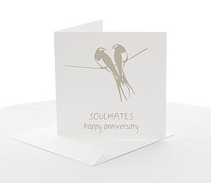 Anniversary 'Soulmates' Card