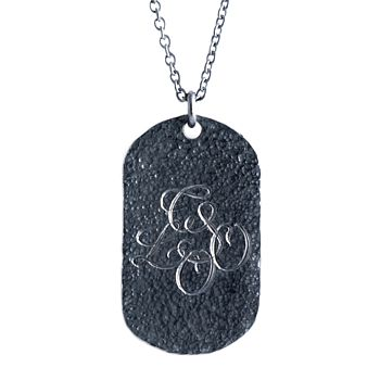 Personalised Military Tag Necklace