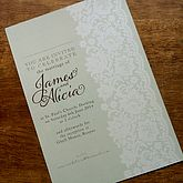 Vintage Lace Wedding Stationery Range - weddings