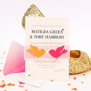 Cute As Candy Invitation Set