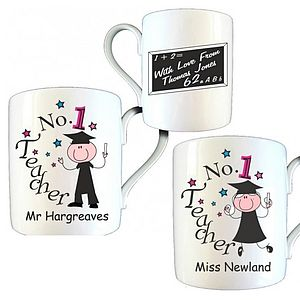 Personalised Mug Thank You Gifts For Teachers