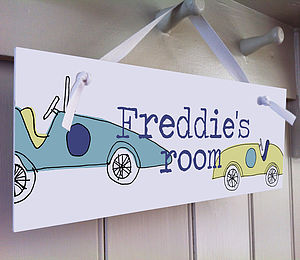 Boy's Room Sign