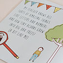 Personalised 'Why My Teacher Is Brilliant' Gift Book