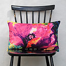 Myriad Painterly Floral Cushion