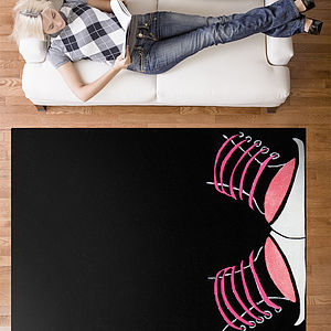 Punk Shoes Rug - rugs & doormats