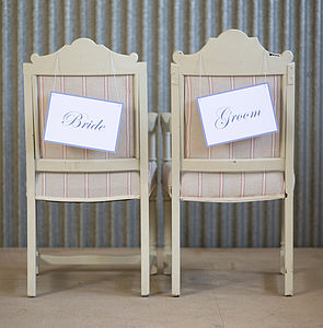 Wedding Signs - table decorations