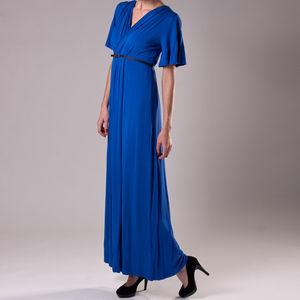 Gloria Bamboo Jersey Maxi Dress - dresses